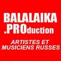 Balalaika.PROduction Artistes et Musiciens Russes